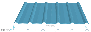 Tôn Bluescope Lysaght® Trimdek® OptimaTM
