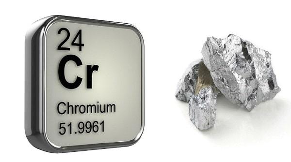 Crom là kim loại có độ cứng lớn nhất hành tinh
