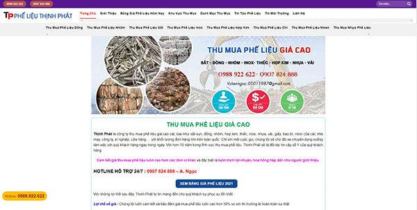 Thịnh Phát - Công ty thu mua sắt vụn giá cao